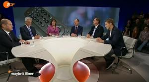 """Maybrit Illner: """"Gebühren, Quoten, Qualität - sind ZDF und ARD ihr Geld wert?"""""""