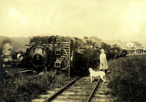 1906 earthquake train