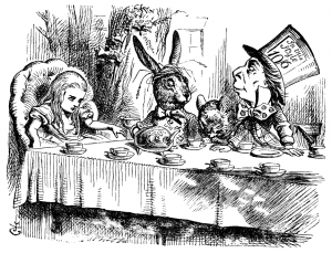 The decision for a public service youth platform on the Internet makes one feel like Alice in wonderland.