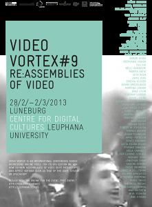 Video Vortex #9. Re:Assemblies of Video